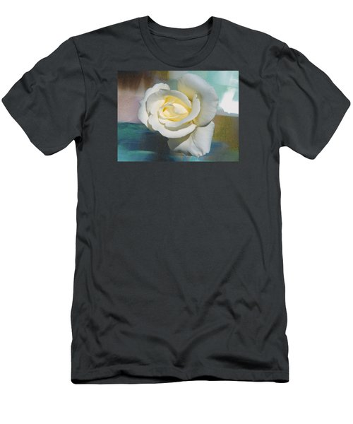 Rose And Lights Men's T-Shirt (Slim Fit) by Helen Haw