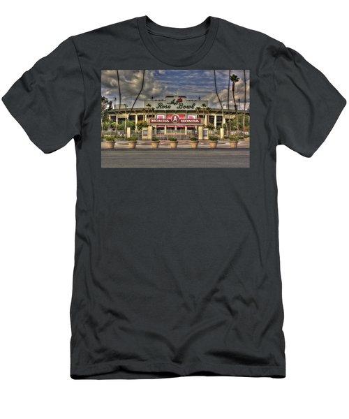 Rose Bowl Hdr Men's T-Shirt (Slim Fit) by Richard J Cassato