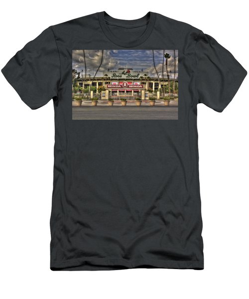 Rose Bowl Hdr Men's T-Shirt (Slim Fit)