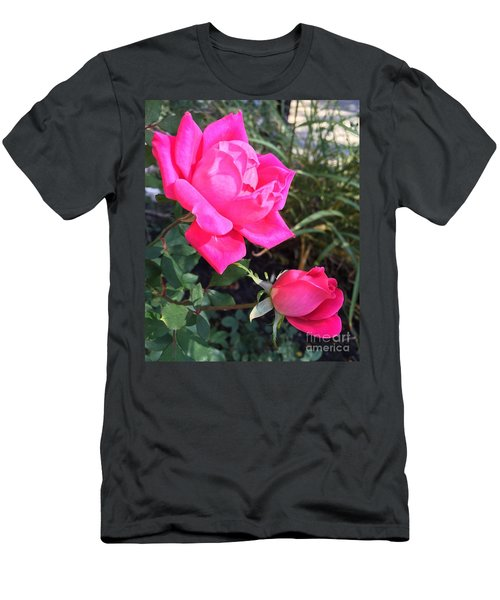 Rose Duet Men's T-Shirt (Athletic Fit)