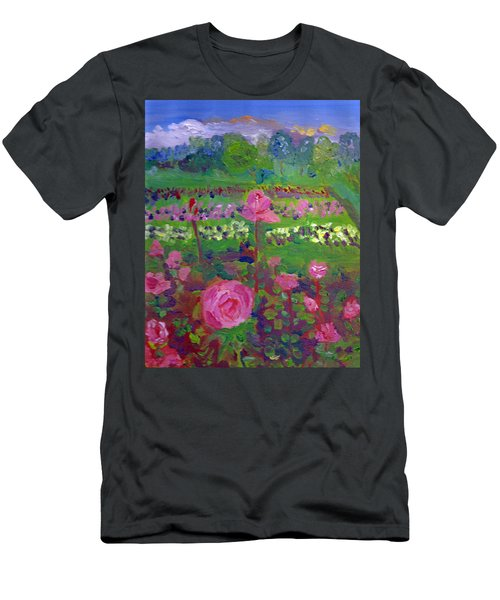 Rose Gardens In Minneapolis Men's T-Shirt (Athletic Fit)