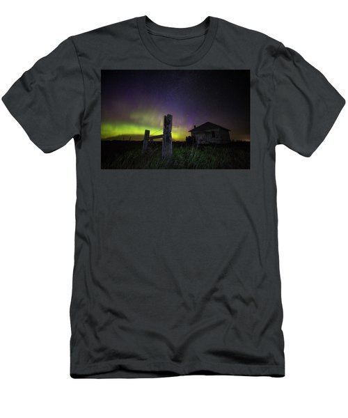 Men's T-Shirt (Athletic Fit) featuring the photograph Rose Hill by Aaron J Groen