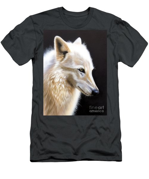 Rose IIi Men's T-Shirt (Slim Fit) by Sandi Baker