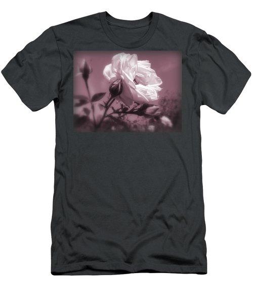 Rose In Rose Men's T-Shirt (Slim Fit)