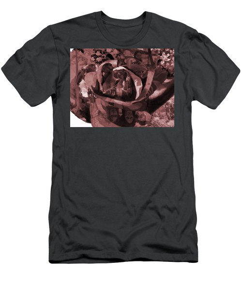 Rose No 2 Men's T-Shirt (Athletic Fit)