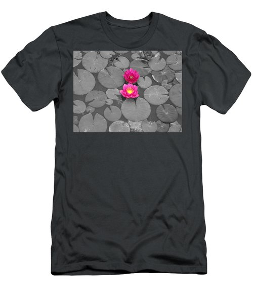 Rose Of The Water Men's T-Shirt (Athletic Fit)