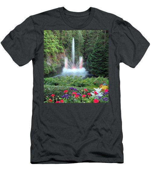 Ross Fountain Men's T-Shirt (Athletic Fit)