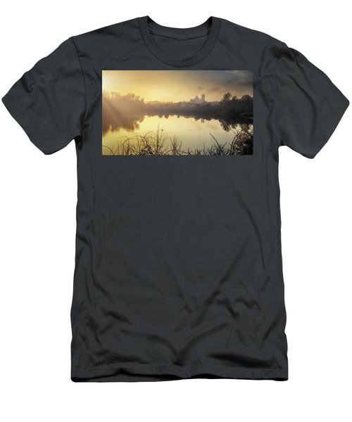 Men's T-Shirt (Athletic Fit) featuring the photograph Roswell View by James Billings