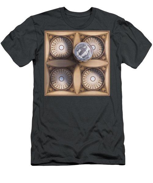 Rotunda 4 Ways Men's T-Shirt (Athletic Fit)