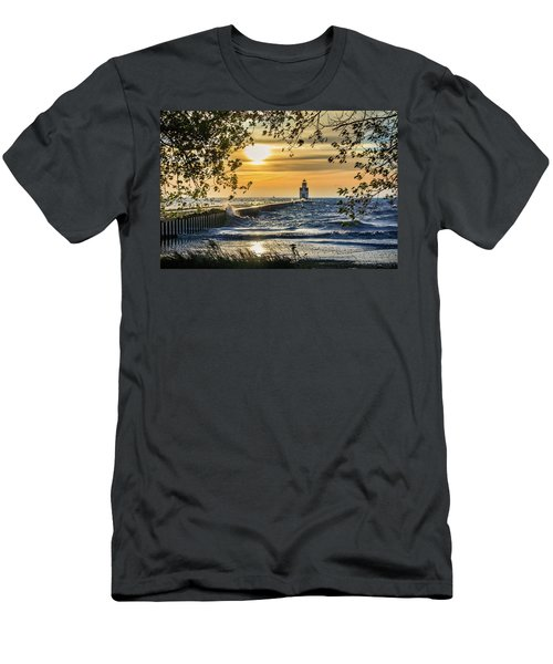 Men's T-Shirt (Athletic Fit) featuring the photograph Rough Opening by Bill Pevlor