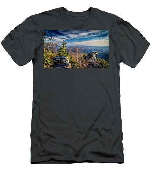 Rough Ridge View Men's T-Shirt (Slim Fit)