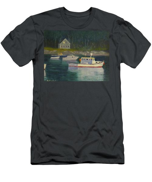 Round Pond Fading Light Men's T-Shirt (Athletic Fit)
