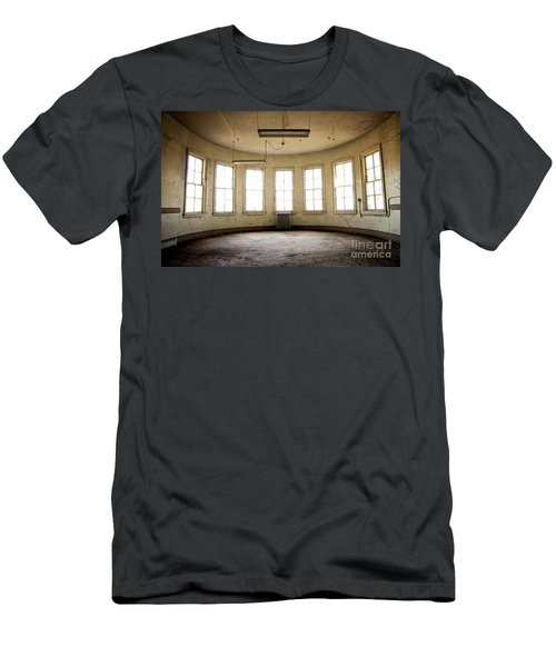 Men's T-Shirt (Slim Fit) featuring the photograph Round Room by Randall Cogle