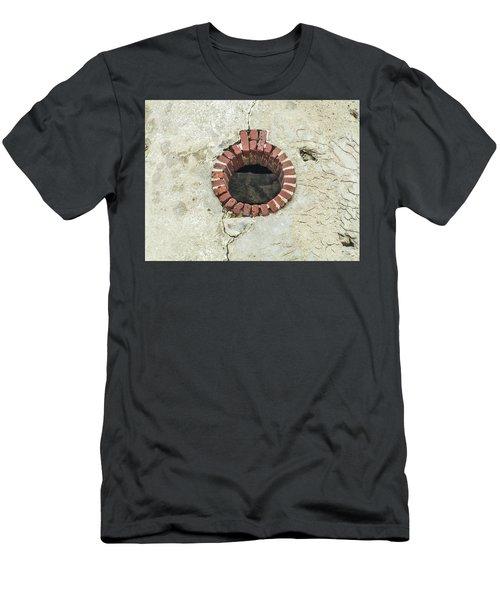 Round Window Men's T-Shirt (Slim Fit) by Helen Northcott