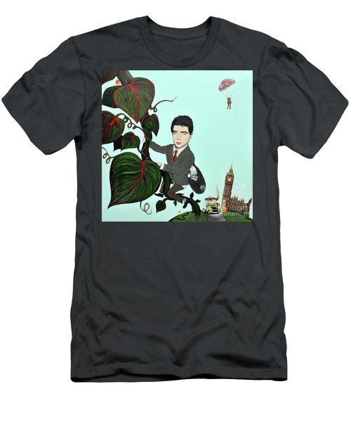 Rowan Atkinson Mr Beanstalk Men's T-Shirt (Athletic Fit)