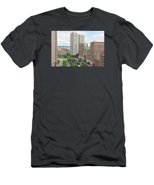 Rowes Wharf Men's T-Shirt (Athletic Fit)