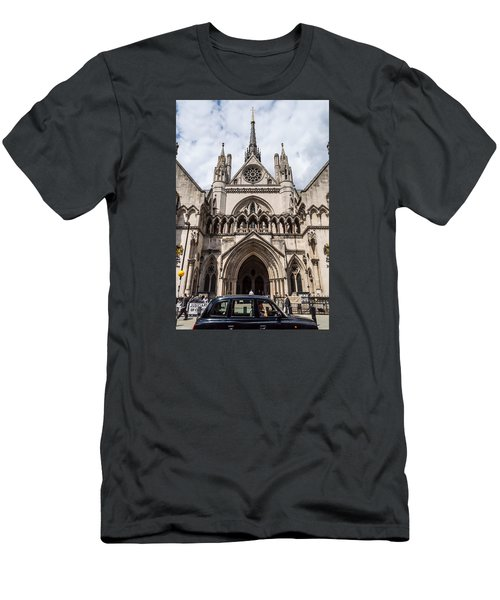 Royal Courts Of Justice In London Men's T-Shirt (Athletic Fit)
