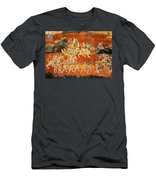 Royal Palace Ramayana 02 Men's T-Shirt (Athletic Fit)