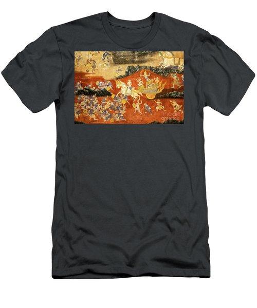 Royal Palace Ramayana 03 Men's T-Shirt (Athletic Fit)