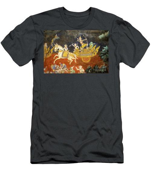 Royal Palace Ramayana 07 Men's T-Shirt (Athletic Fit)