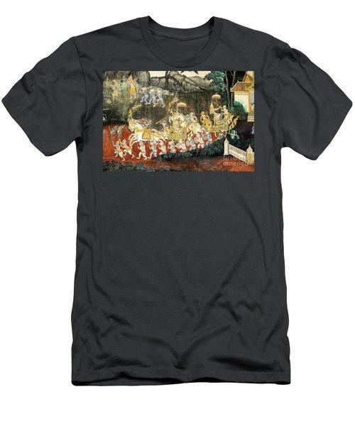 Royal Palace Ramayana 11 Men's T-Shirt (Athletic Fit)