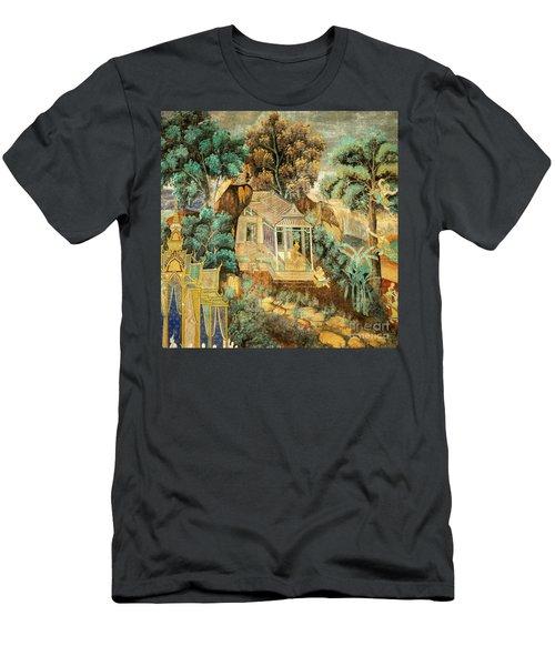 Royal Palace Ramayana 12 Men's T-Shirt (Athletic Fit)