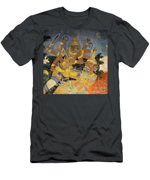 Royal Palace Ramayana 22 Men's T-Shirt (Athletic Fit)
