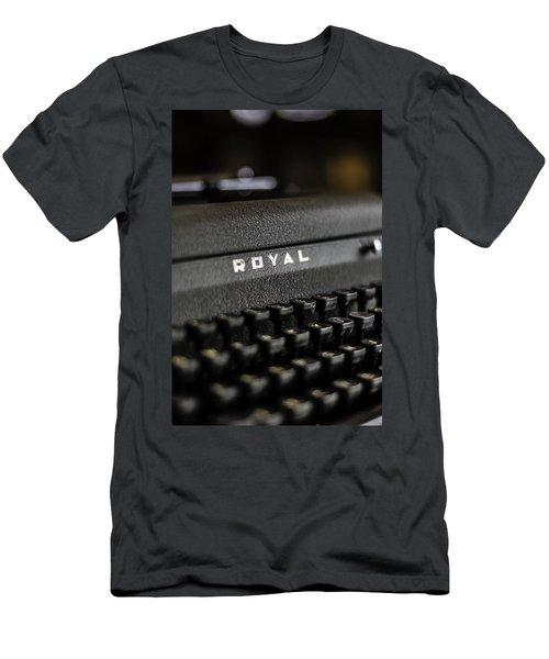 Royal Typewriter #19 Men's T-Shirt (Athletic Fit)