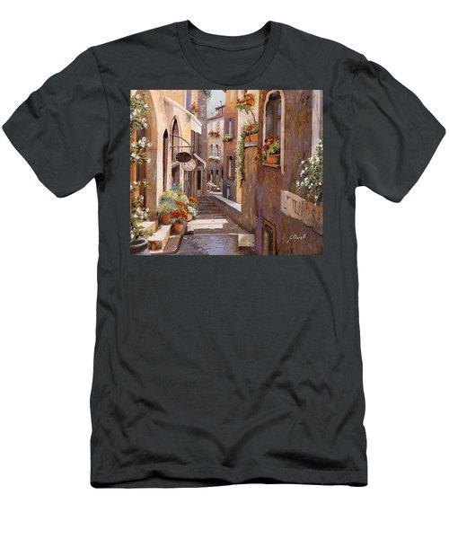 Rue Du Bresc In St Paul De Vence Men's T-Shirt (Athletic Fit)