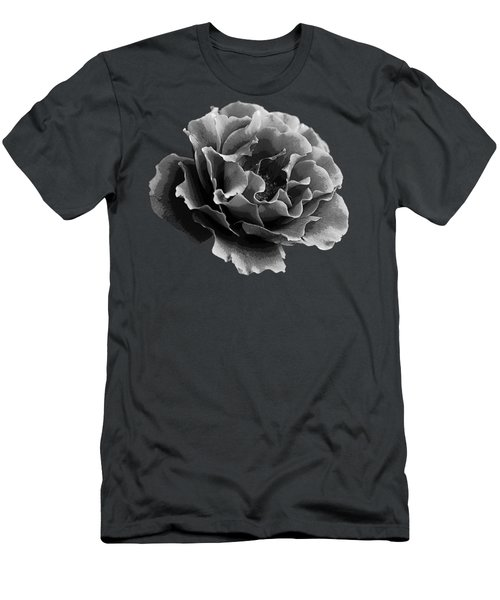 Men's T-Shirt (Slim Fit) featuring the photograph Ruffles by Linda Lees