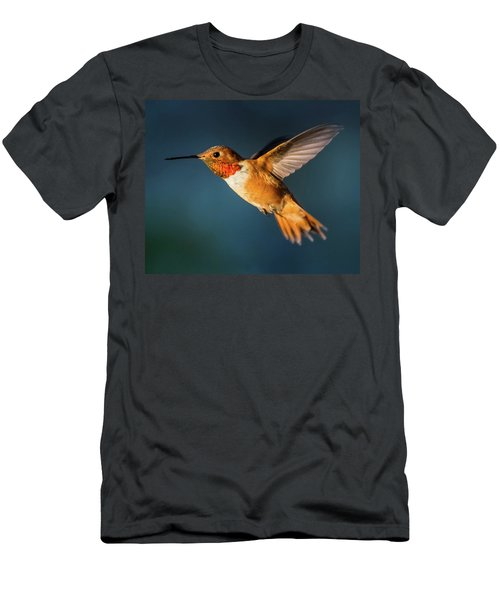 Rufous Men's T-Shirt (Slim Fit) by Martina Thompson