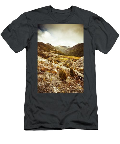 Rugged Valley Wilderness Men's T-Shirt (Athletic Fit)