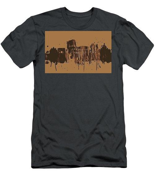 Ruins Of Rome Men's T-Shirt (Athletic Fit)
