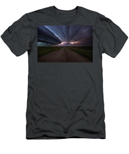 Men's T-Shirt (Athletic Fit) featuring the photograph Run by Aaron J Groen