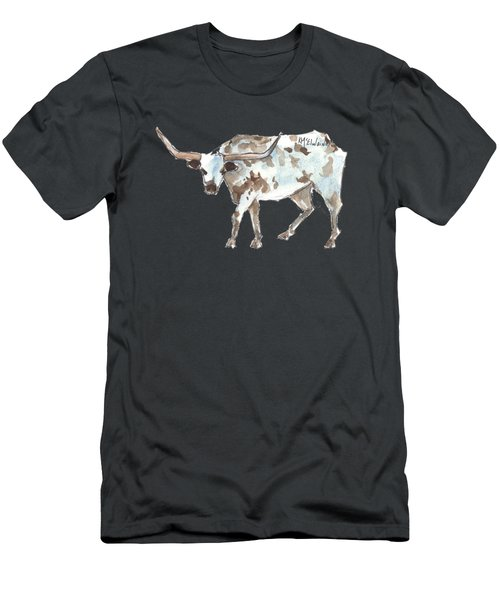 Running Back Texas Longhorn Lh070 Men's T-Shirt (Athletic Fit)