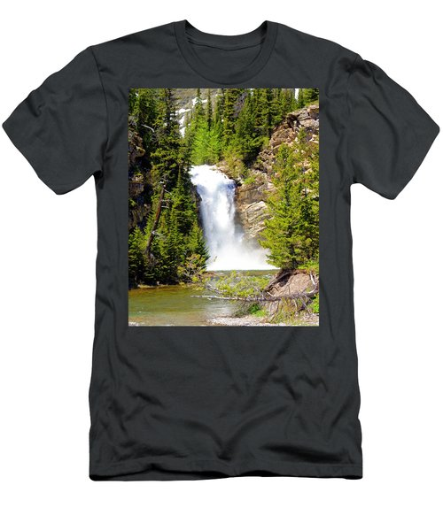 Running Eagle Falls Men's T-Shirt (Athletic Fit)