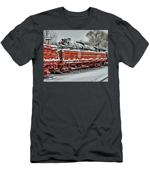 Running Out Of Steam Men's T-Shirt (Athletic Fit)