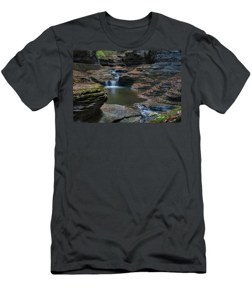 Running Water Men's T-Shirt (Athletic Fit)