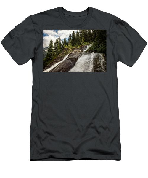 Runoff Men's T-Shirt (Athletic Fit)
