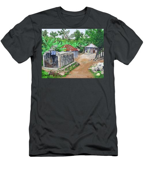 Rural Haiti - A Study In Poignancy Men's T-Shirt (Athletic Fit)