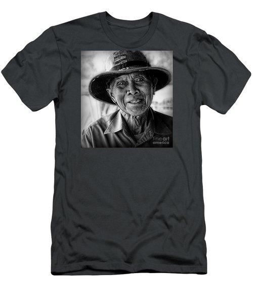 Rural Rice Farmer Men's T-Shirt (Athletic Fit)