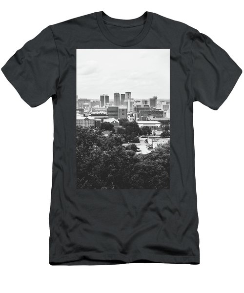 Men's T-Shirt (Slim Fit) featuring the photograph Rural Scenes In The Magic City by Shelby Young