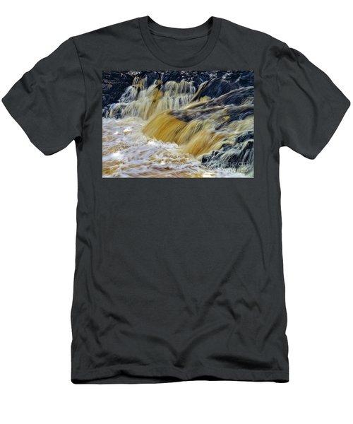Rushing Water Men's T-Shirt (Athletic Fit)