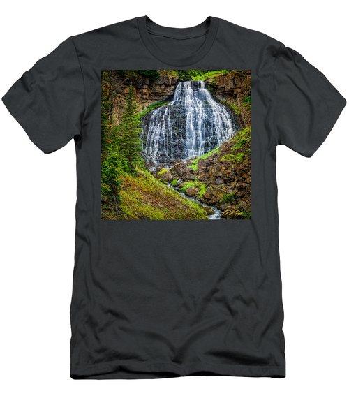 Rustic Falls  Men's T-Shirt (Athletic Fit)