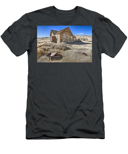 Men's T-Shirt (Slim Fit) featuring the photograph Rustic House by Jason Abando