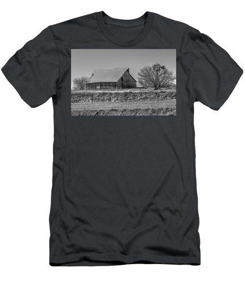 Rustic Rural Iowa Men's T-Shirt (Athletic Fit)