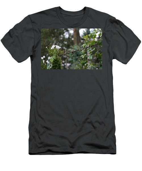 Men's T-Shirt (Athletic Fit) featuring the photograph Rustic Serenity by Cynthia Marcopulos