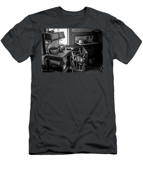 Rusting Pots And Pans, Bodie Ghost Town Men's T-Shirt (Athletic Fit)