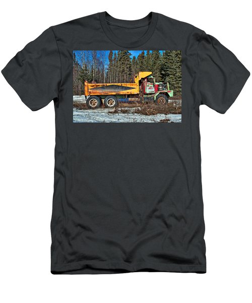 Rusty Dump Truck Men's T-Shirt (Athletic Fit)