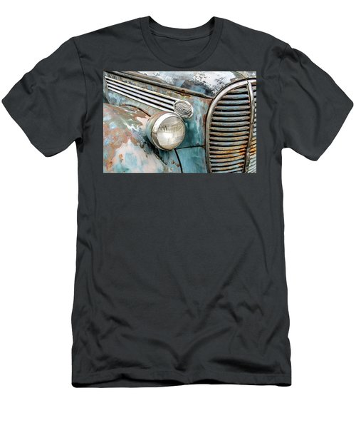 Rusty Ford 85 Truck Men's T-Shirt (Slim Fit) by David Lawson